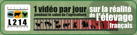 Le salon de l'agriculture de L214