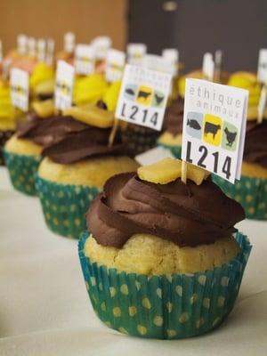 Cupcakes vegans