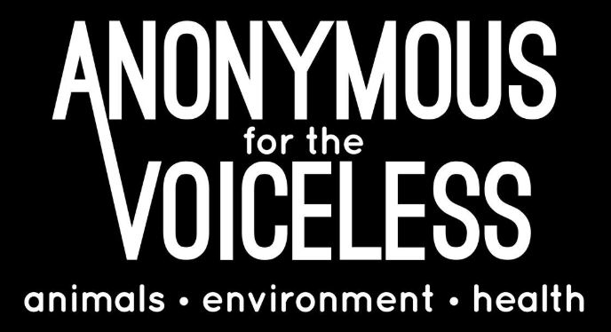 Logo Anonymous for the voiceless