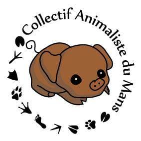 Logo collectif animaliste du Mans