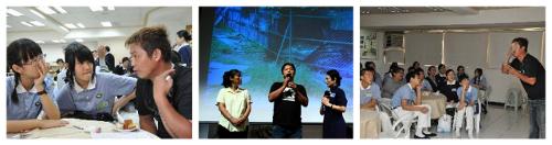 Lo Hung-Hsien en conférence