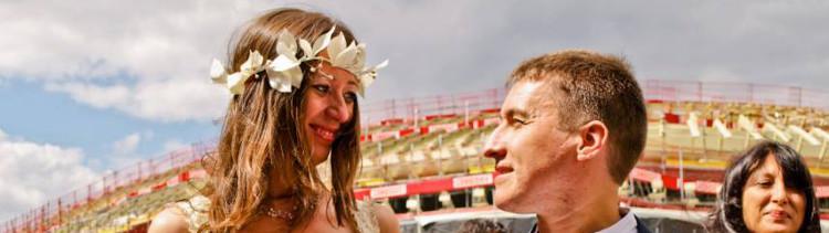 Bannière Juliana et Eric, mariage vegan pour les animaux