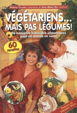 """Couverture du livre """"végétariens mais pas légumes!"""""""