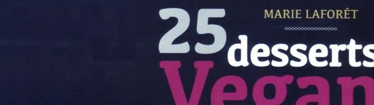 Bannière 25 desserts vegans