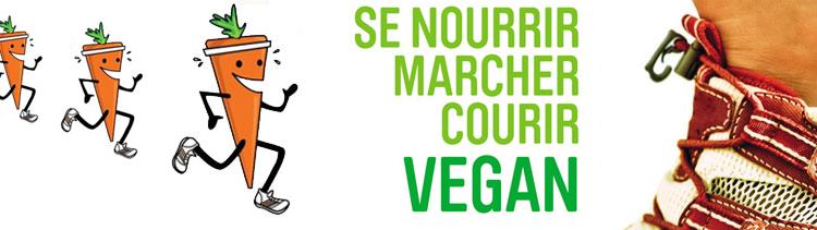 Bannière Se nourrir, marcher, courir vegan