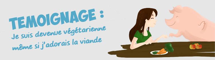 Bannière Témoignage : les images de l'abattoir d'Alès m'ont rendue végétarienne