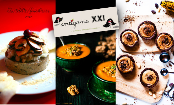 30 recettes festives par Antigone XXI