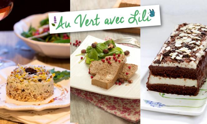 Noël vegan, Au vert avec Lili