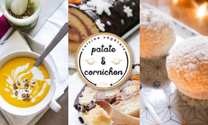 Recettes festives vegan par Patate et Cornichon