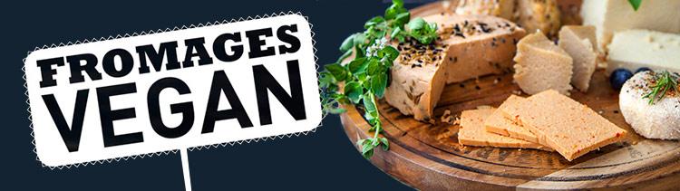Bannière Fromages vegan