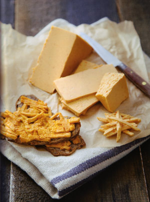 Photo de cheddar vegan