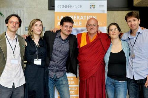 Matthieu Ricard à la conférence du 30 mai