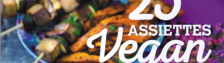Bannière 25 assiettes vegan