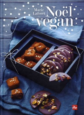 couverture du livre Noël vegan, de Marie Laforêt