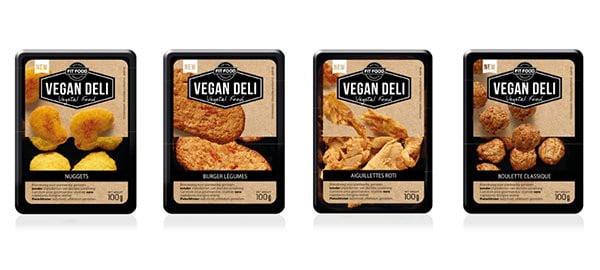 gamme Vegan Deli chez Monoprix