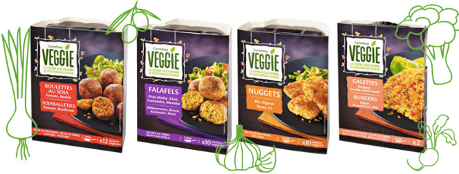 gamme Carrefour Veggie