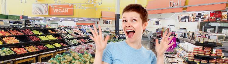 Bannière 7  alternatives vegan hyper pratiques vendues en supermarchés