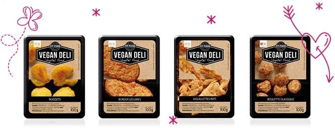 Vegan Deli chez Monoprix