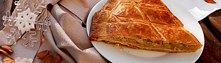 Bannière 5 recettes de galettes des rois vegan & gourmandes