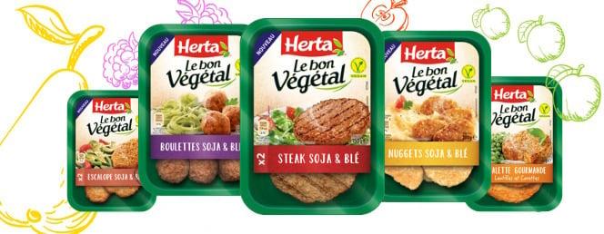 gamme végétarienne Herta