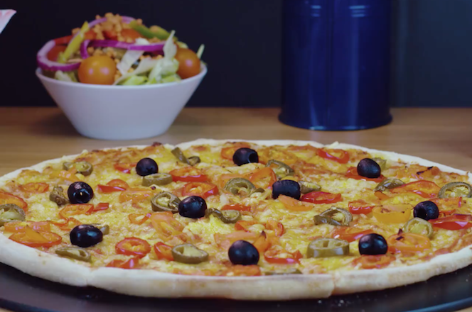 Pizza vegan chez Pizza Hut