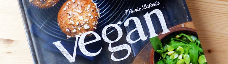 """Bannière """"Vegan"""" de Marie Laforêt"""