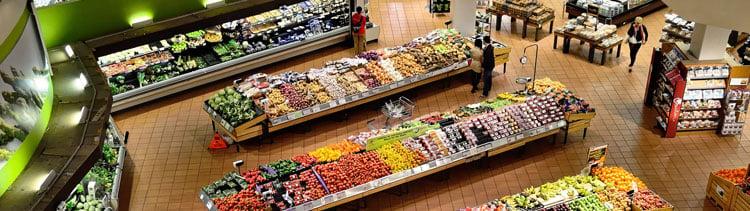 Bannière Des supermarchés au Royaume-Uni vont promouvoir le végétarisme !