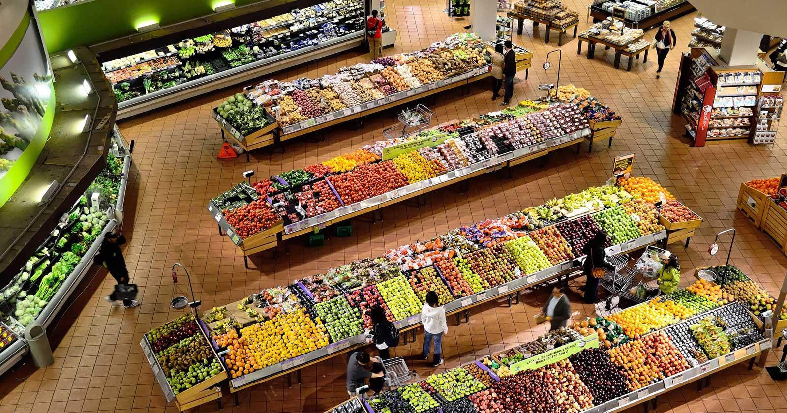des supermarch u00e9s au royaume