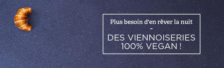 Bannière Les viennoiseries 100% vegan débarquent (enfin) dans nos supermarchés !
