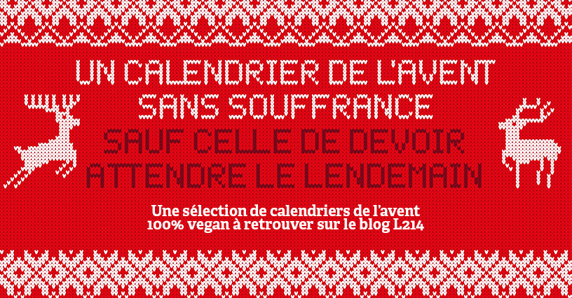 Message Pour Calendrier De L Avent.Notre Top 10 Des Calendriers De L Avent Vegan Blog L214