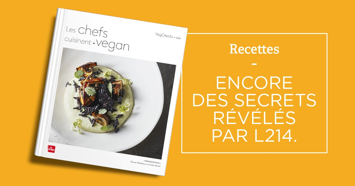 Les Chefs Cuisinent Vegan Le Livre De Cuisine De L214 Blog L214