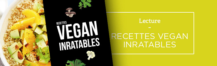 Bannière Recettes vegan inratables