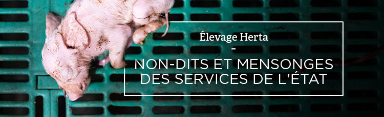 Bannière Herta : non-dits et mensonges des services de l'État