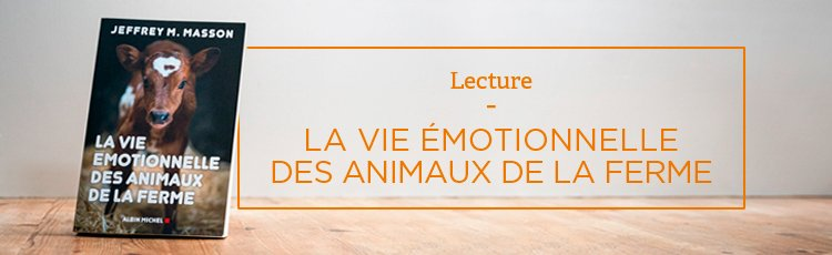 Bannière La Vie émotionnelle des animaux de la ferme