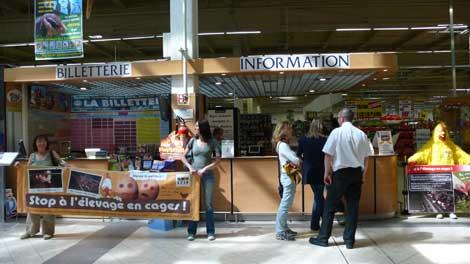 Action pour les poules pondeuses à Metz