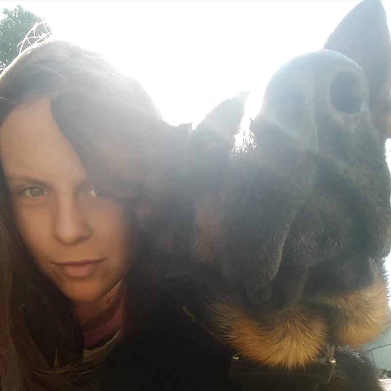 Zoé et un de ses très bons amis