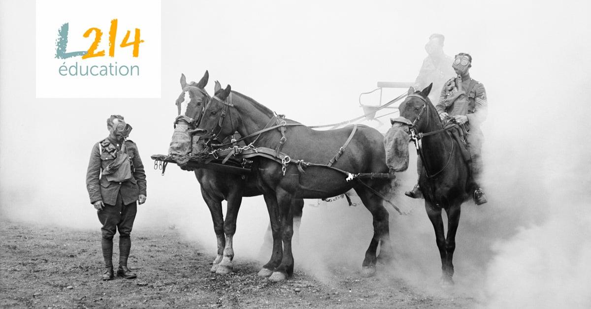 14-18, les animaux dans la Grande Guerre