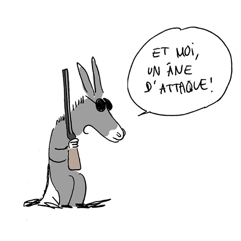 Méfiez-vous des animaux de guerre !