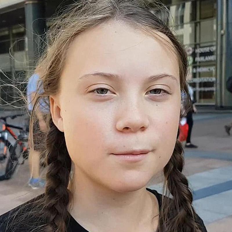 Greta Thunberg est vegan pour le climat et les animaux.