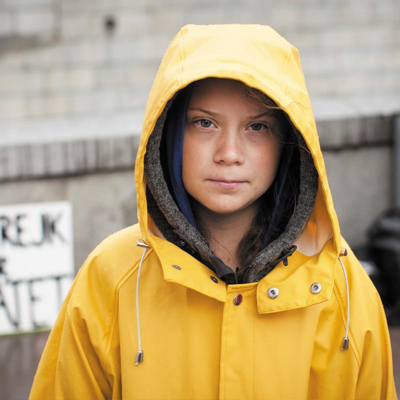 La jeune Greta Thunberg a commencé le mouvement des grèves scolaires pour le climat.