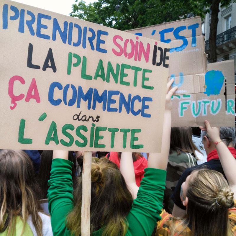 En France aussi, les jeunes se bougent pour le climat !