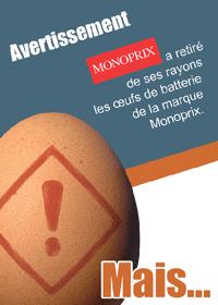 Recto du tract Monoprix