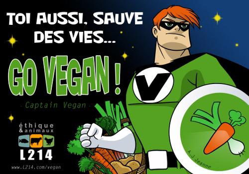 Comment devenir végétarien (ou presque) sans souffrir ? GoVegan-500