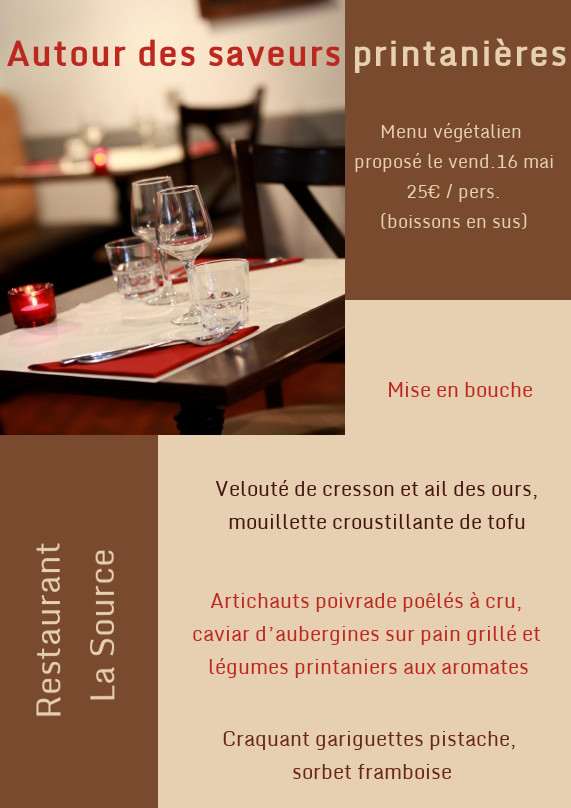 repas v g talien au restaurant thique et animaux. Black Bedroom Furniture Sets. Home Design Ideas