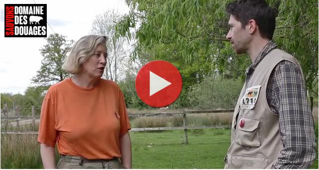 Interview de Dominique Mauer, pour sauver les moutons du Domaine des Douages