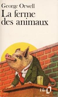 Couverture du livre La Ferme des animaux de G. Orwell