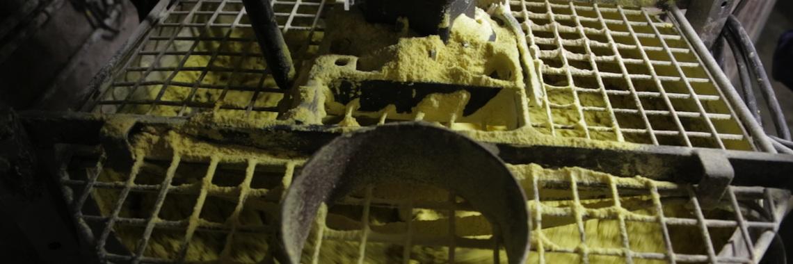 préparation de la pâtée de maïs