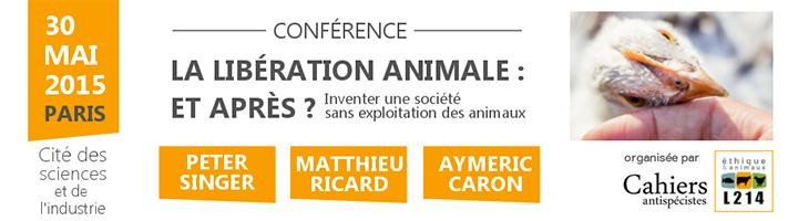 Conférence Libération animale : et après ?