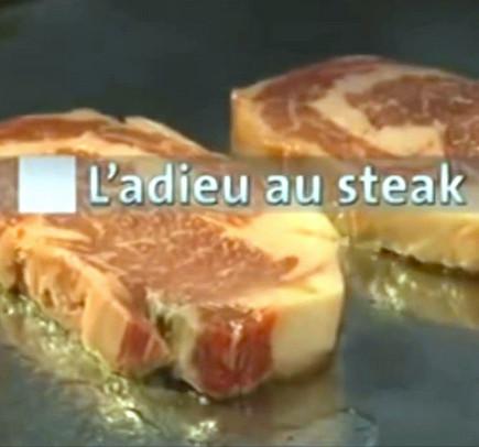Affiche du documentaire Adieu au steak