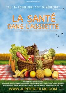 Affiche du documentaire La santé dans l'assiette